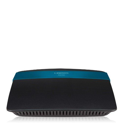 Linksys EA2700 App-Enabled N600 Dual-Band Wireless-N Router with Gigabit Wireless-N technology uses multiple radios to create a robust signal that travels farther and faster, with reduced dead spots.. All ports support Gigabit speed and Auto-Crossover (MDI/MDI-X) -- no need for crossover cables. Guest Access feature allows your visitors access to the Internet, but not your computers or data.  #Linksys #PersonalComputer