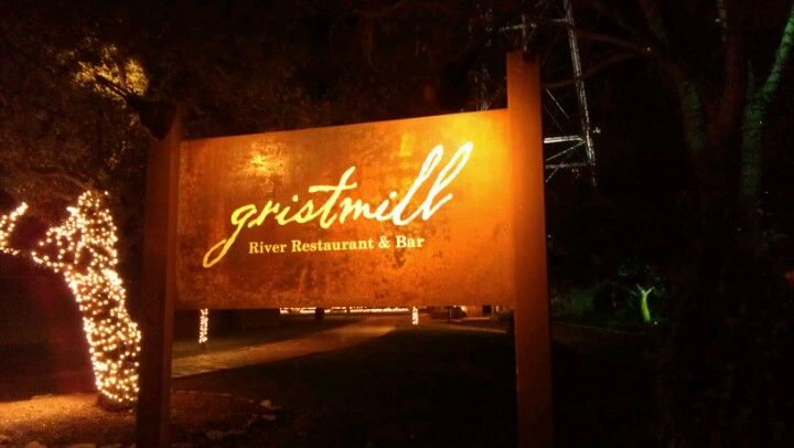 Gristmill River Restaurant & Bar in Gruene, TX