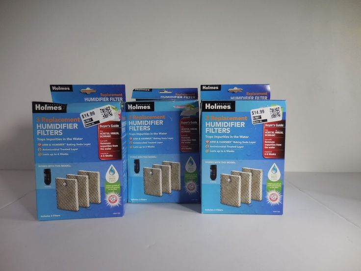 Genuine Holmes Humidifier Filters HWF100 Type E Replacement Filter - 3 Pack X 3 #Holmes