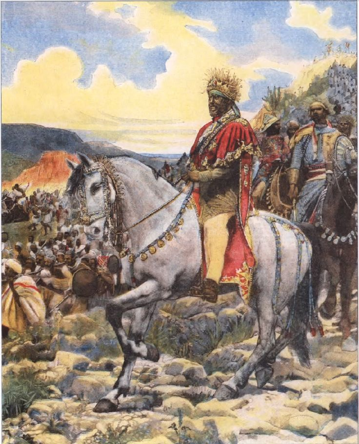 """The Battle of Adwa, in which Ethiopian forces under Emperor Menelik II united to defeat an invading force of Italian troops, was one of the most significant turning points in the history of modern Africa. It occurred, in 1896, when the """"colonial era"""" was well advanced on the African continent, and it served notice that Africa was not just there """"for the taking"""" by European powers."""