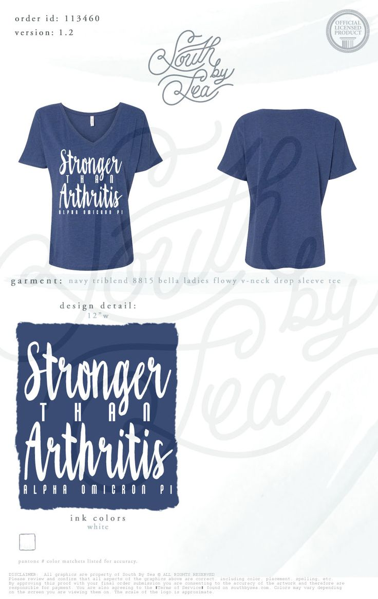 Stronger than arthritis alpha omicron pi aoii for Sorority t shirt design