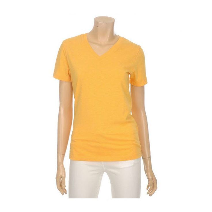 Topten10 Women Basic Simple Summer Cotton V neck Short Sleeve T-shirt_6 options #Topten10 #Vneck #Casual