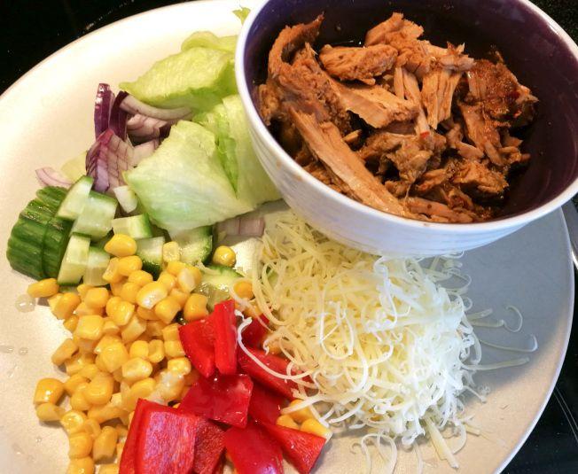 Crockpot- Pulled pork på skinkstek med sweet chili | Lindas mathörna