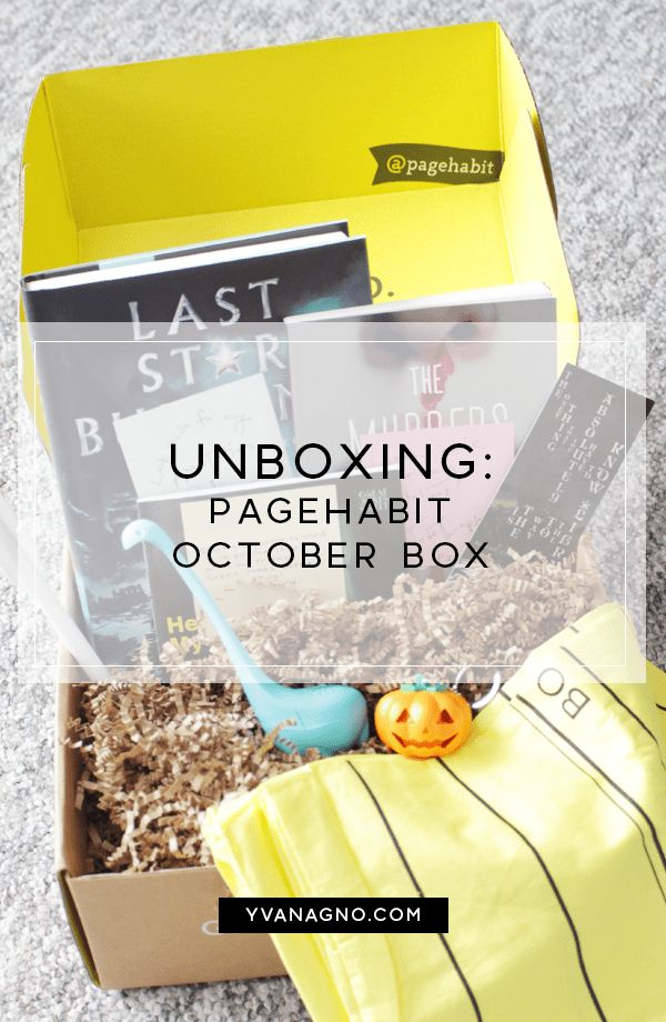 October PageHabit Box Unboxing  #books #book #reading #review #bookblogger #bookbloggers #pagehabit #mypagehabit #yxe #yxeblogger