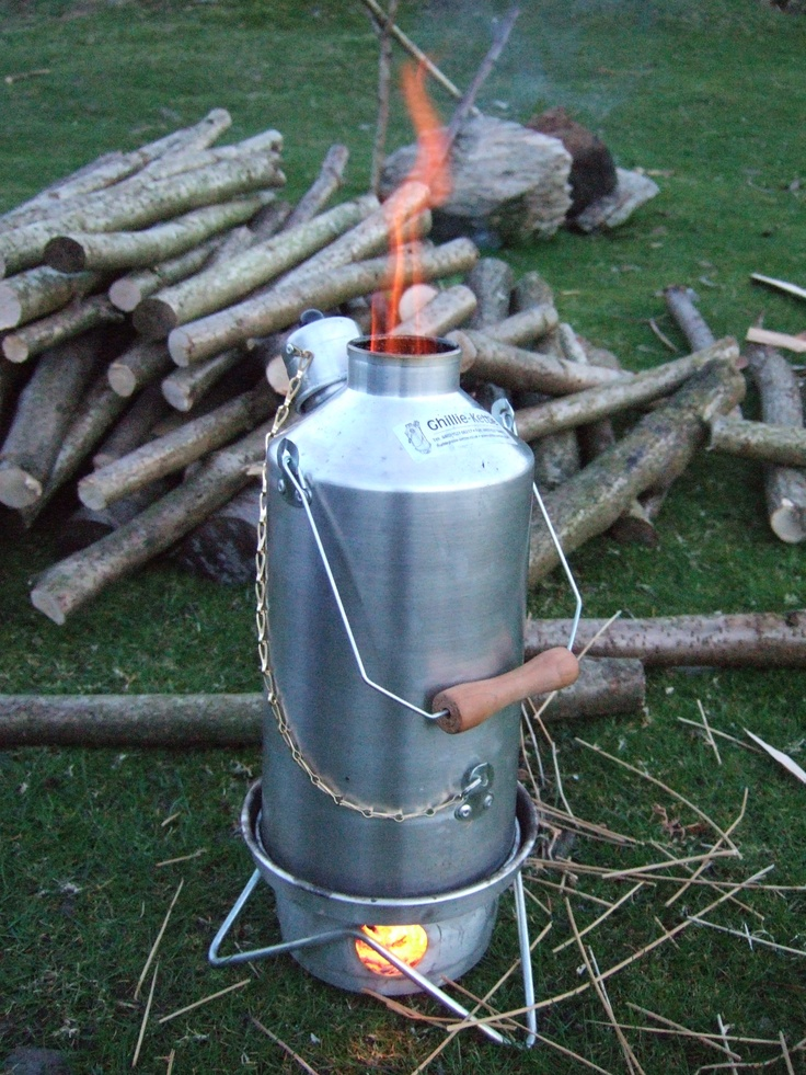 We love our kelly kettle.