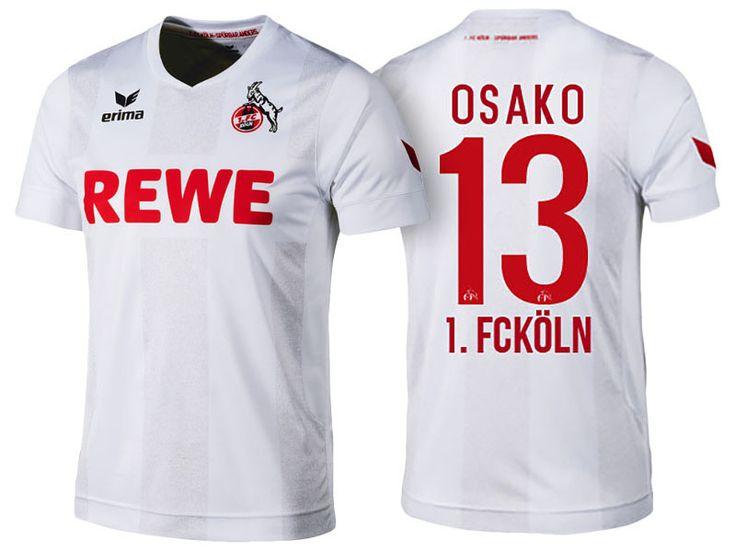 1. FC Koln #13 Yuya Osako 2016-17 Home Jersey