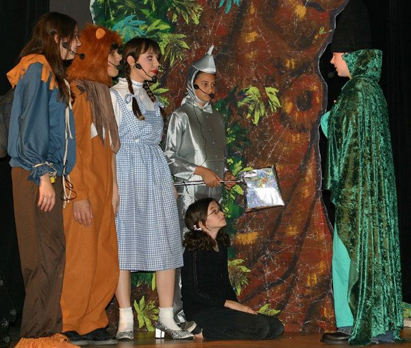 The Wizard of Oz playscript is a very popular script for all levels of theatre . https://www.playscripts.com/play/1264