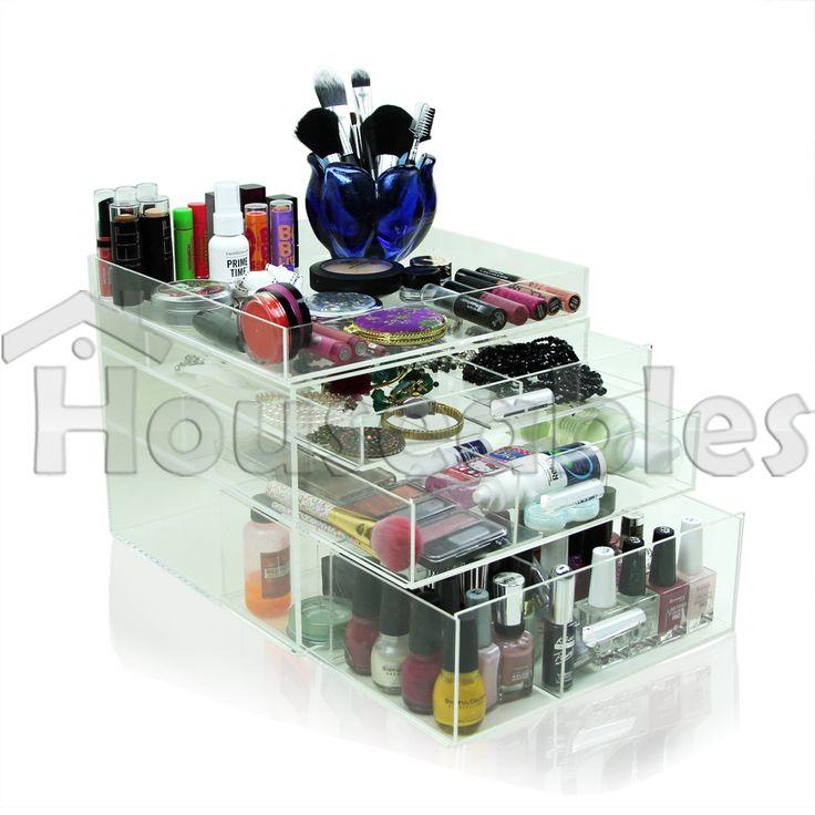 Best Makeup Organizer Ideas. De 25  bedste id er inden for Acrylic makeup organizers p
