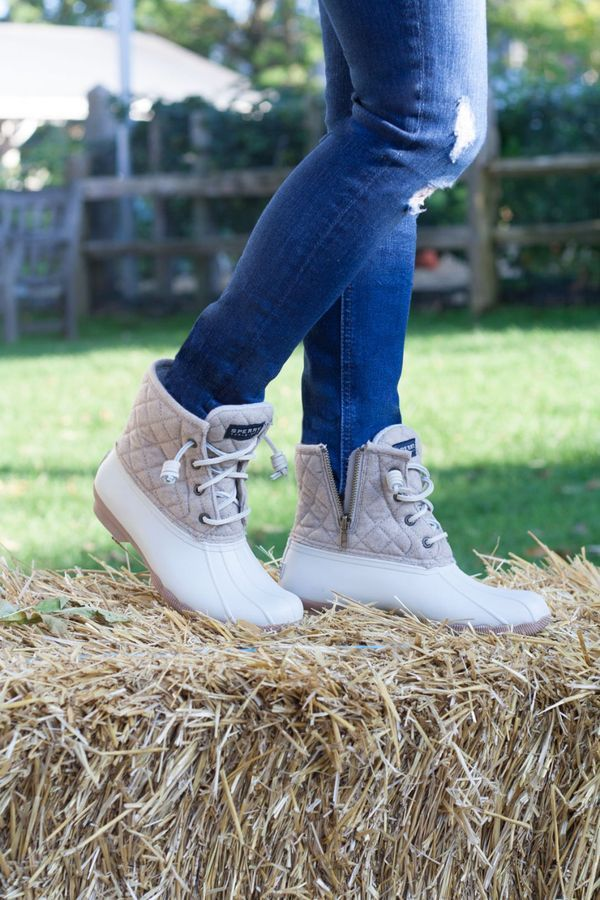 Sperry Duck Boots, Women's Shoes