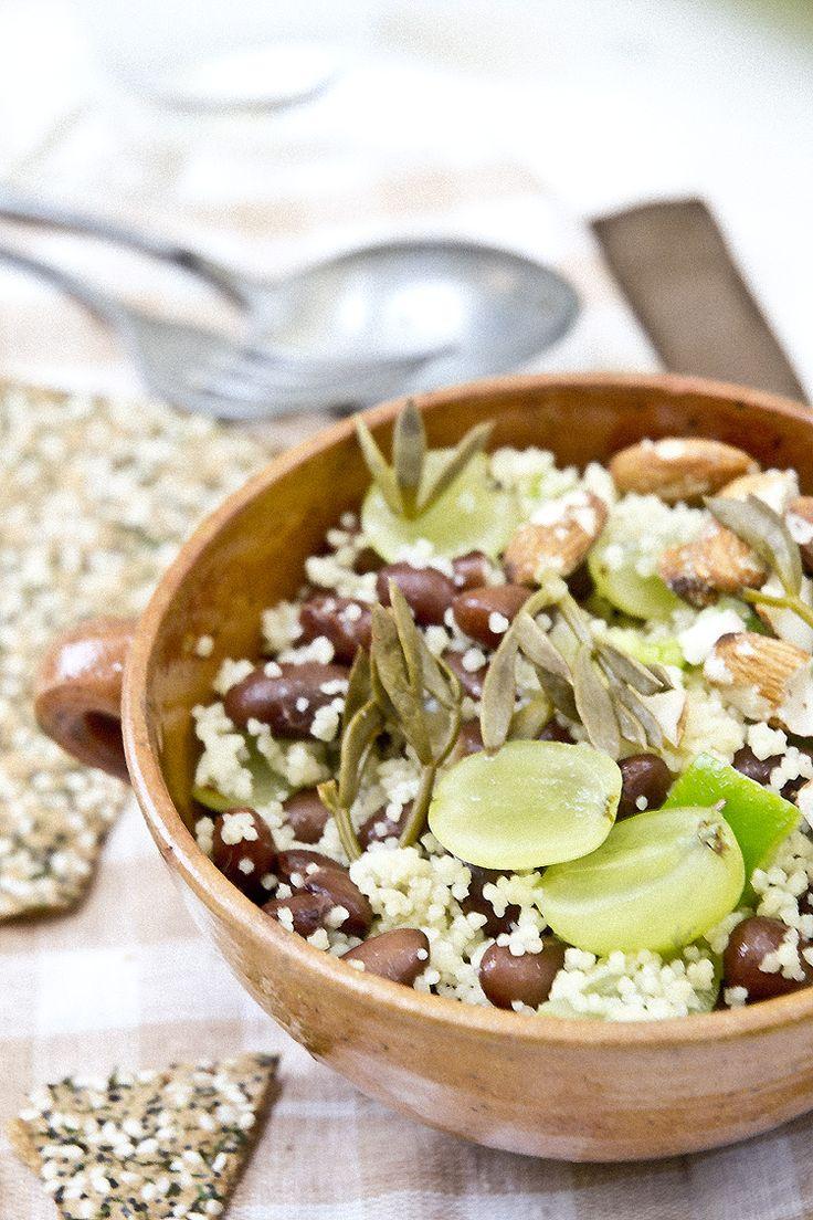 M s de 25 ideas incre bles sobre couscous recetas en pinterest cusc s receta cuscus verduras - Ensalada de judias pintas ...