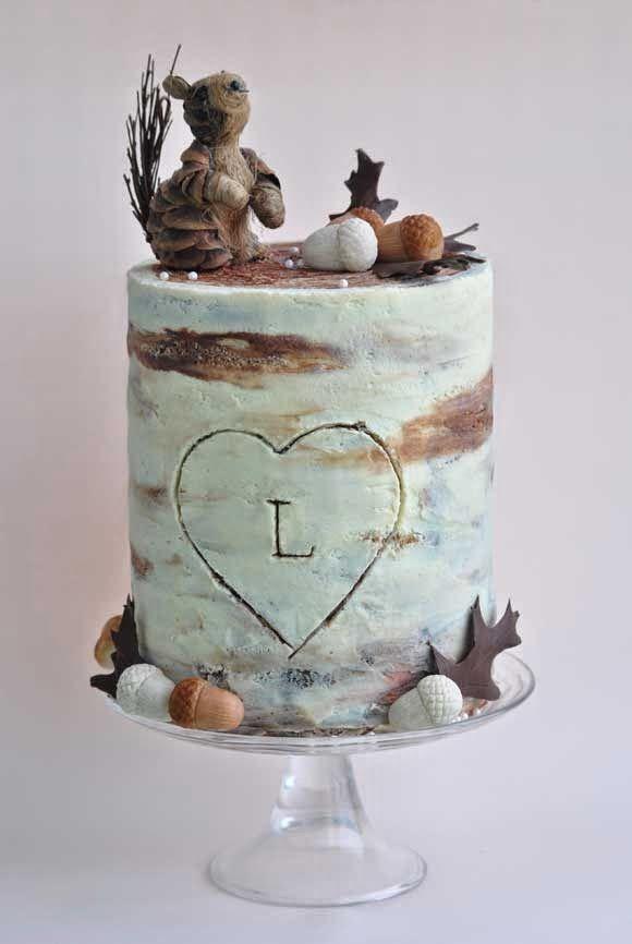 Viva la Tarta: tarta con bellotas y compañía