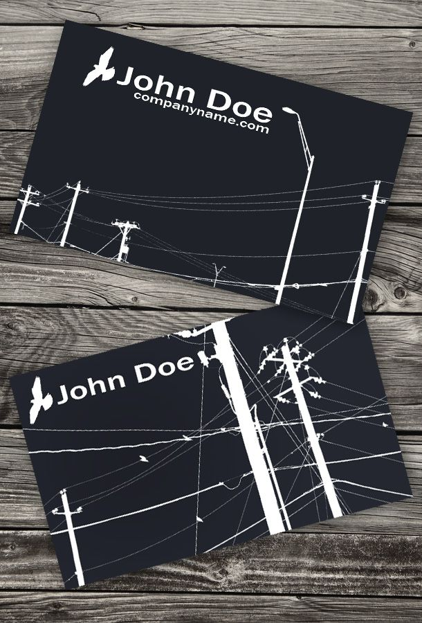 11 best images about design templates for electricians on for Electrician business card ideas