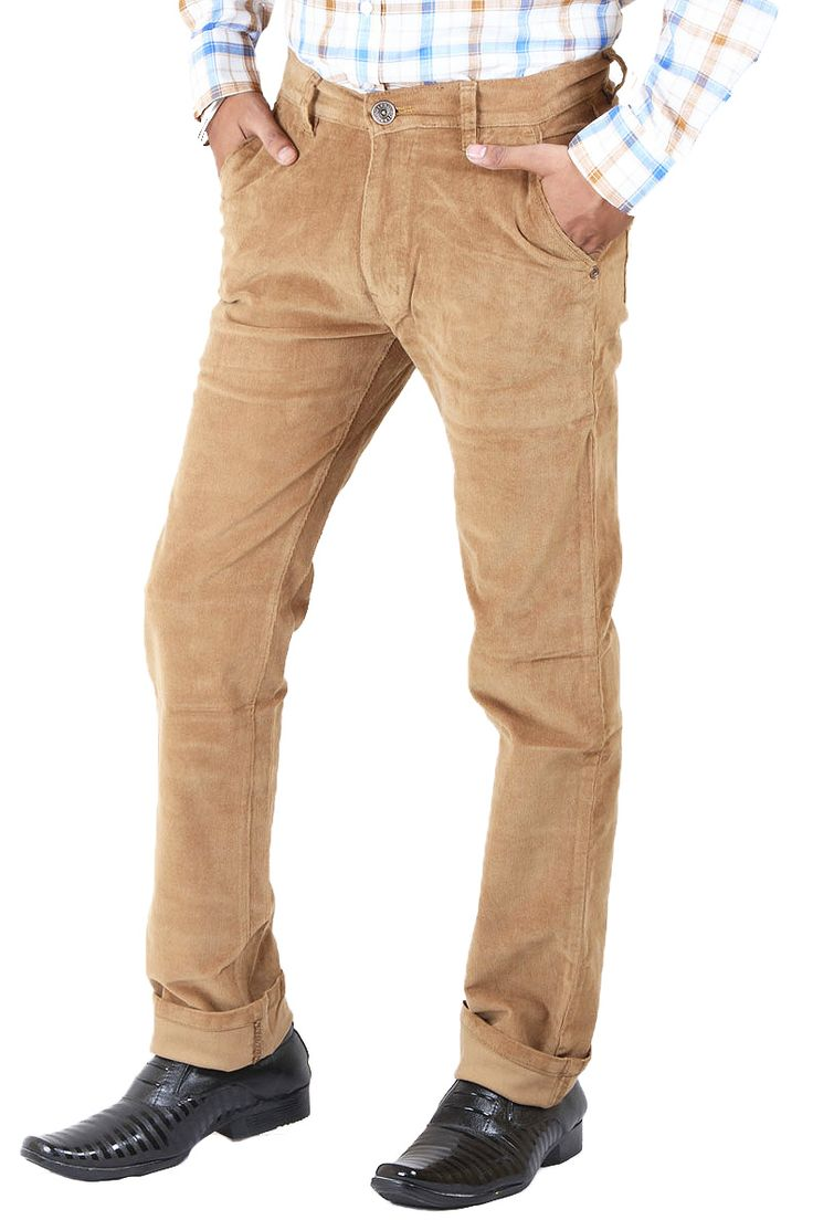 http://tinyurl.com/gvrdm5j Buy Online LA-MARINO Brown Cortrise Stretchable Jeans For Men only on GetAbhi.com