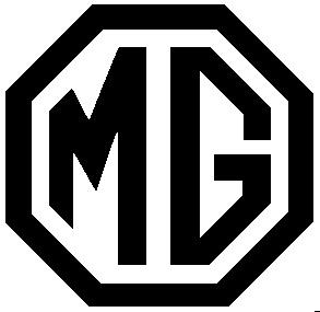 D Car Logo >> MG Logo black/white   MG's Around the World   Pinterest   Cars, British car and Sports cars