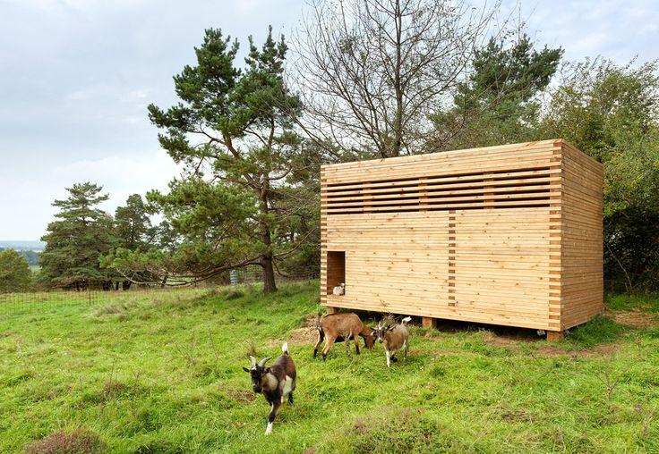 Timber Barn for goats_Michael Kühnlein_Seubersdorf