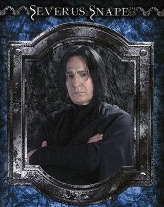 Alan Rickman as Severus Snape | actors gary oldman alan rickman serius black severus snape