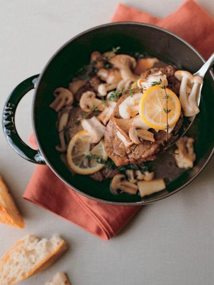きのことタイム、レモンの香りが牛肉の存在感を強調 『ELLE a table』はおしゃれで簡単なレシピが満載!