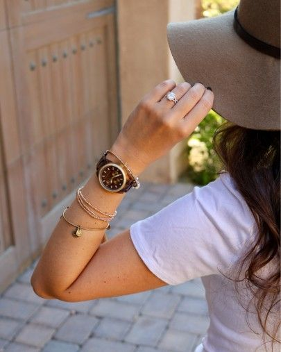 I'm totally in love with dark tortoise shell watches for fall🐢🍂🍁🌻🌾This one is an older style, but I found so many similar ones that are perfect for this season! Shop my favorites here 👉🏼 http://liketk.it/2sQ0S #liketkit @liketoknow.it #LTKstyletip #LTKunder100