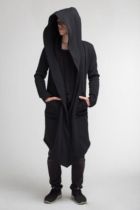 Urban Classics Men/'s Cardigan Extra Long Long Cardigan Shawl Oversize