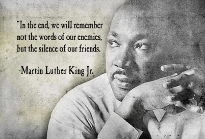 : True Friends, Martin Luther King, The Silence, This Men, True Words, Famous People Quotes, Fake Friends, Nu'Est Jr, Inspiration Quotes