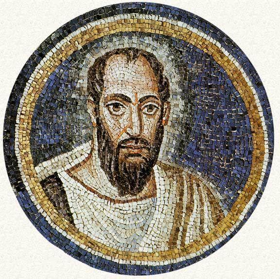Cappella del Palazzo Arcivescovile, Ravenna. Mosaici della fine del V - inizio del VI secolo. Periodo teodoriciano, SAN PAOLO