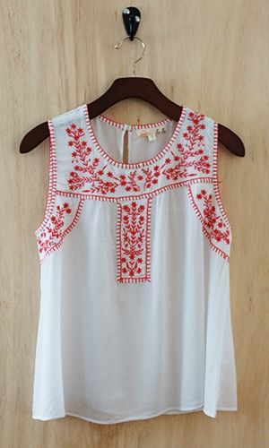 Bohemian Weekend Blouse.  Just add jeans.