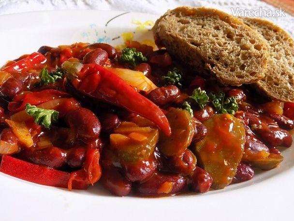 Ďábelské fazole - Recept