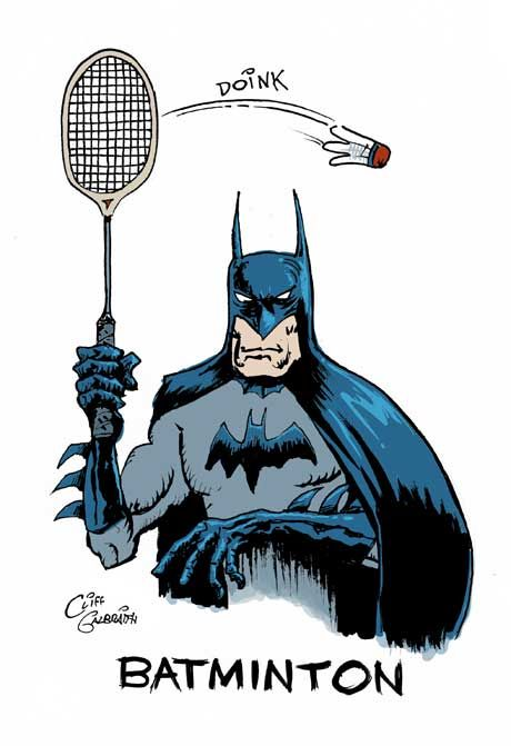 Summertime is for Batman Movie and Badminton | Comics ...