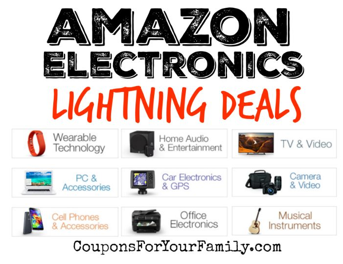 Amazon Electronics Lightning Deals for Nov 30