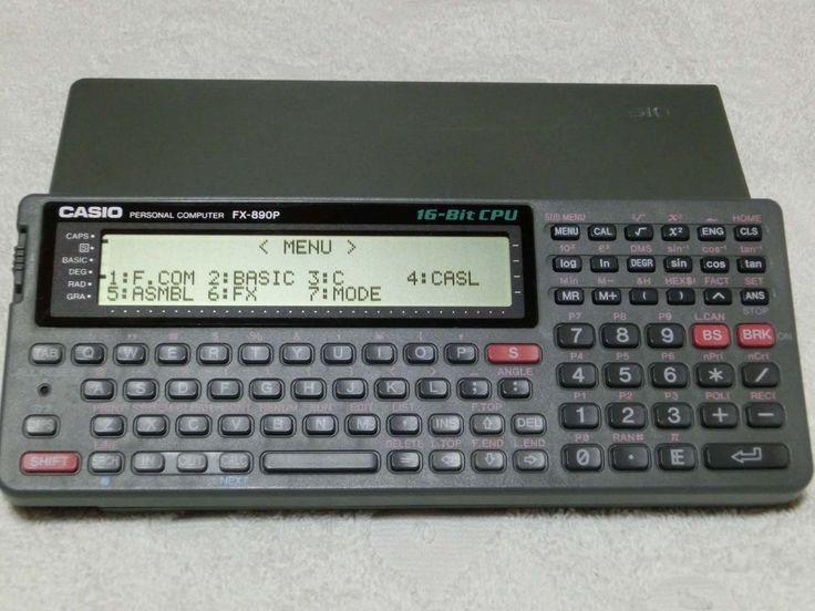 Casio FX 890P Pocket Computer