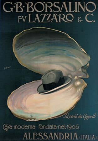 Borsalino Hats http://www.vintage-poster-market.com/img,1047,-borsalino-hats-vintage-poster-70064.html