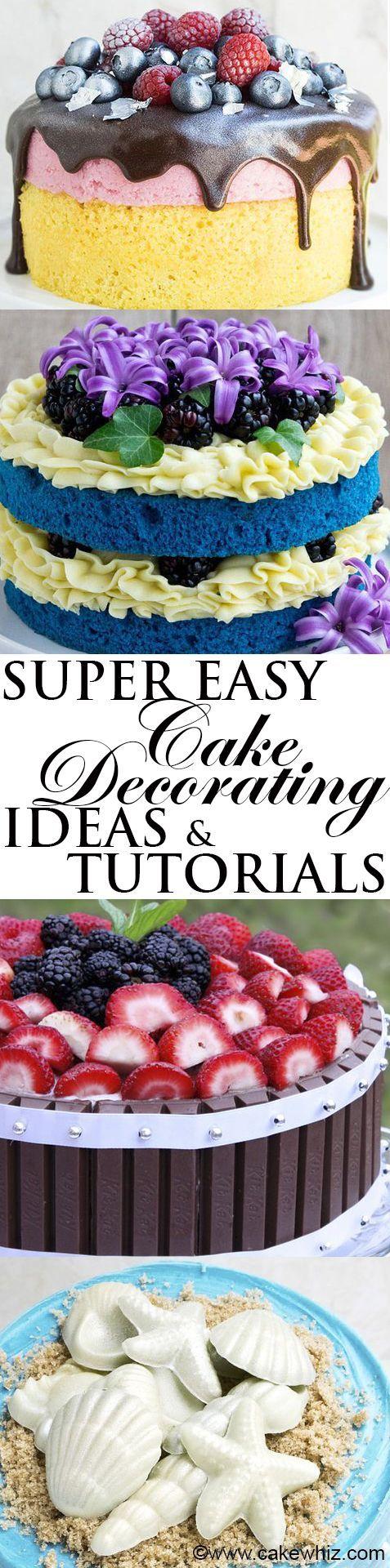 Best 25 Beginner cake decorating ideas on Pinterest Icing tips