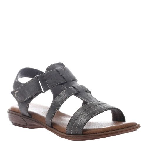 Pewter Sandal by Axxiom