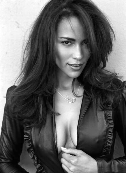 Paula Patton. She is simply a beautiful woman inside and out. Proud of her ethnic background and that is something to be admired