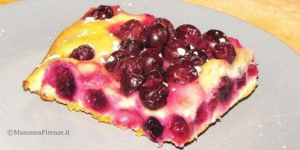 Schiacciata con l'uva (ricetta veloce)