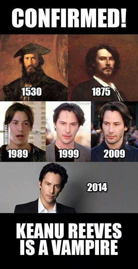 Keanu Time Traveler