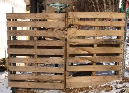 Double Pallet Gate My Pallet 39 S Pinterest Pallets