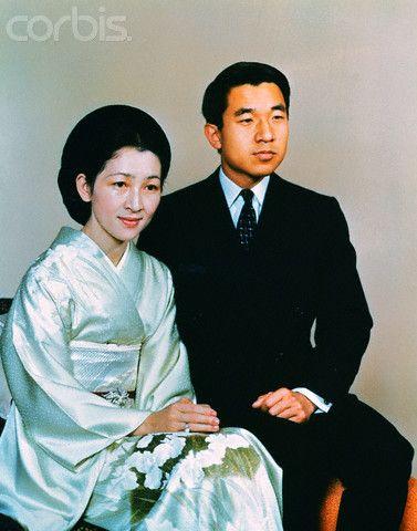 天皇皇后両陛下 as 皇太子継宮明仁親王(つぐのみやあきひとしんのう)殿下, 同妃美智子(みちこ)殿下時代  Crown Prince Akihito and Crown Princess Michiko
