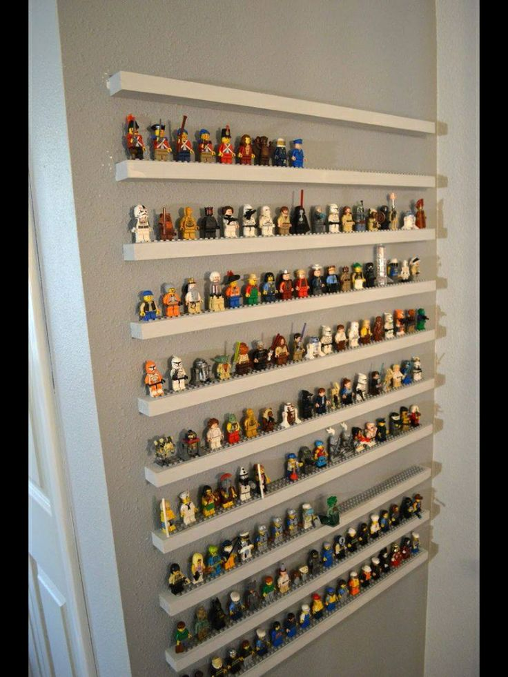 This satisfies my need for organising and my need for not wanting to stand on anymore Lego men!