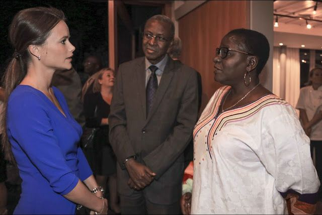 Royals & Fashion -  Princess Sofia attended a reception at the Swedish Embassy in Pretoria, South Africa.