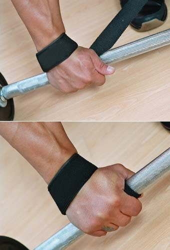Chiba weight Lifting Straps allows release the bar faster than any other brand on the market, can lift 5 percent more weight. http://www.corposflex.com/en/chiba-weight-lifting-straps