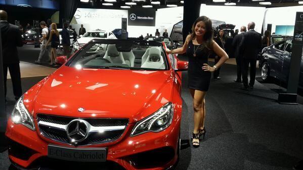 Journalist and news anchor Jennifer Su enjoying the E-Class Cabriolet #MercedesBenz