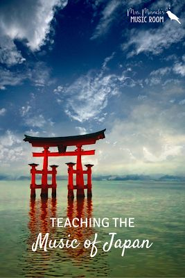 Teaching the music of Japan: A mini-unit for your music class, including folk songs, bucket drumming, and more!