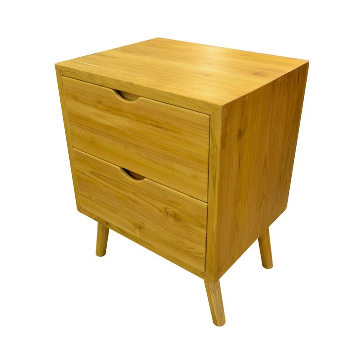 Bedside Table B. Clean cut design.