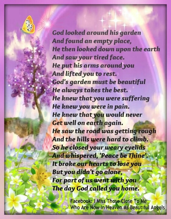 God looked around his garden... | Sayings to keep & note ...