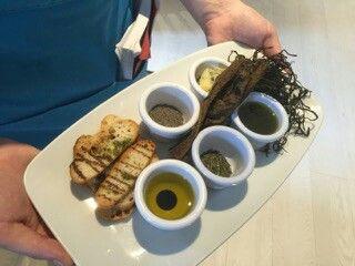 Seaweed tasting plate