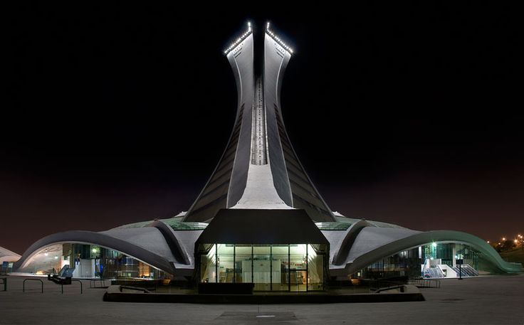 """""""The Olympic Stadium is a multi-purpose stadium in the Hochelaga-Maisonneuve district of Montreal, Quebec, Canada."""""""