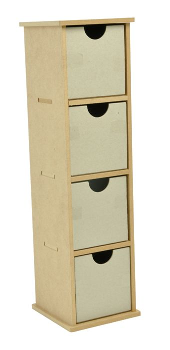 """4"""" x 16"""" x4""""  Kaisercraft - Beyond the Page Collection - Tall Drawers at Scrapbook.com $25.99"""