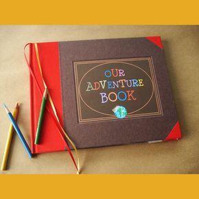 Our Adventure Book · UP! · Travel Scrapbook · Wedding Photo Album · Anniversary Scrapbook · Baby Scrapbook