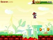 Play online Super Mario Run game for free, Mario games , Super Mario games and Super Mario Bros games . Super Mario run 3.In this version,It has new art and new monsters.  Mario has to run and eats gold , mushroom ,monster etc. Be carefull,it is dangerous in the map.Good luck. Arrow keys to control.